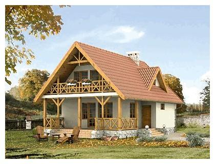 domy góralskie
